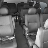 Kingstar Neptuno L6 17 Asientos de Automóviles, Luz Autobús, Autobús