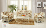 Nuevo estilo de Royal Classic sofá de tela para Muebles de Salón (162-1)