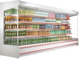 スーパーマーケットのMultidecksのキャビネットの空気カーテンの飾り戸棚