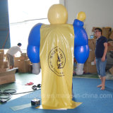 Costume eccellente mobile gonfiabile divertente del fumetto dell'uomo di buona qualità