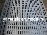 Kohlenstoffarmer Stahl-perforiertes Metall, lochendes Loch-Ineinander greifen
