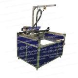 Dreiachsige Pasten-Kleber-Maschine mit Förderanlage für Nahrungsmittelkästen (LBD-RD3A001)