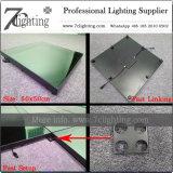 魔法LEDのダンス・フロア3DミラーLEDの床ライト