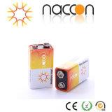 A bateria ultra alcalina 9V 6lr61 1.5V seca Batteryies