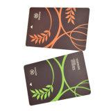 Cartão plástico da sociedade do código do PVC Card/Qr do presente com laminação