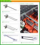 Raccord de fabrication de métal Affichage des barres de vente au détail des crochets pour les vêtements