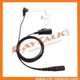 Casque radio à deux voies de la surveillance de l'écouteur pour IC-F50 IC-F51 IC-F60 IC-F61 etc
