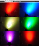A PARIDADE interna econômica do diodo emissor de luz de 18X10W RGBW 4in1 pode iluminar-se