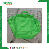 Saco de compra reusável do saco do carro de compra com um Polybag