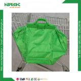 Panier sac réutilisable Un sac de shopping avec une enveloppe en polyéthylène