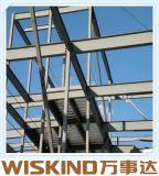 Costruzione chiara prefabbricata della struttura d'acciaio con il materiale della trave di acciaio