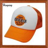 方法オレンジ刺繍は野球帽をキャップする