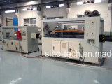 Chaîne de production en plastique d'extrusion de pipe d'approvisionnement en eau de HDPE