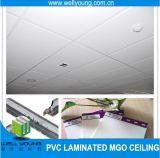 天井を中断する白い洗濯できるPVC