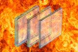 Vetro resistente al fuoco per architettura