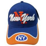 Venta caliente gorra de béisbol con bonito logotipo (076P001)