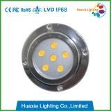 indicatore luminoso marino del supporto della superficie di 6X3w LED/indicatore luminoso della barca