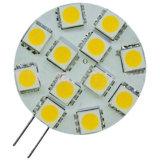 12 LED 5050のG4 LEDの球根