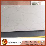 Китайский Calacatta белый кварцевый камень для кухонных столешниц слоя