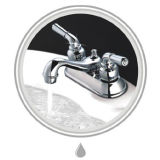 Faucet тазика 4 ABS дюйма пластичный с поверхностью крома