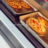 Хлеб хлебопекарни печи промышленной двойной палубы электрический для сбывания