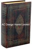 Классической старинной Vintage тиснение (emboss) фиолетового цвета кожи/MDF деревянные окна Адресная книга для хранения