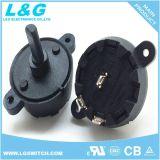 Interrupteur rotatif 1 pôle Non-Shorting 10 positions