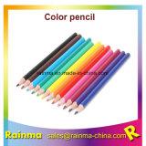 Jumbo avec triangle au crayon de couleur et forme octogonale