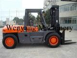 van de Diesel van de Motor 10ton Isuzu de Apparatuur van de Behandeling Lading van de Vorkheftruck