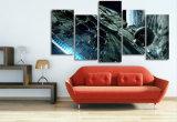 HD imprimió la lona Mc-017 del cuadro del cartel de la impresión de la decoración del taller de impresión de la lona de pintura de Star Wars del halcón del milenio