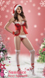 Lencería sexy sexy / desgaste de la Navidad (SD-04)