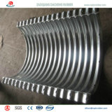 Zinc-Plate tubo galvanizado ondulado con alta calidad en España