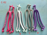 Cinghie trasparenti del PVC per le tomaie del pistone di disegno di modo del pistone delle donne