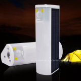 30 Bewegungs-Fühler-Taschenlampen-kampierende Tisch-Lampe der LED-doppelte Farben-USB/Solar für im Freien Innenbeleuchtung