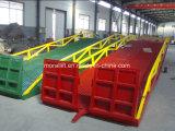 Depósito de homologação CE de rampa da plataforma de carregamento do contentor Hidráulico