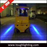 12V 18W 6 pouces de la zone rouge/bleu LED feux d'avertissement de sécurité pour les chariots élévateurs