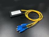 광학 섬유 케이블 Gpon 원거리 통신 1X4 아BS 상자 PLC 쪼개는 도구 Sc/Upc