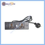 Afzet van de Contactdoos van de Macht van het Tafelblad van de Contactdoos van de V.S. de Elektro Goedkope met USB