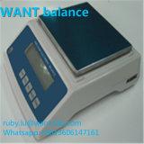 10000g 0,1 g Grama 10kg Capacidade display LCD duplo balanças electrónicas com Manufactor de para-brisa