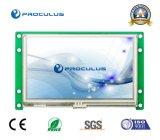 du '' module de TFT LCD intense luminosité 4.3 avec l'écran tactile résistif