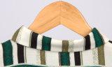 新しいデザイン女性のセクシーで長い袖プリントブラウス