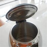 Gran capacidad de acero inoxidable de buena calidad Hervidor de agua