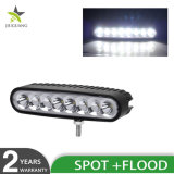 방수 반점 결합 광속 LED 포크리프트 빛 6 인치 40W LED 일 빛