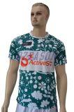Dry Fit Camo fait sur mesure en polyester imprimé T-shirt col rond