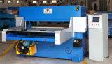 Hydraulische Automatische Met een laag bedekte Stof, de Scherpe Machine van het Leer (Hg-B60T)