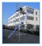 Ce approuvé à la verticale pour la décoration d'échafaudage en aluminium