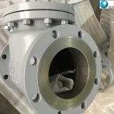 BS1868 углеродистая сталь нержавеющая сталь крепится болтами крышки с двумя пластину вафельной обратный клапан поворотного диска проверьте цены