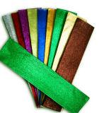 Бумага Crepe цвета смешивания металлическая