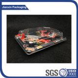 Rectángulo de plástico desechable Caja de Sushi con tapa