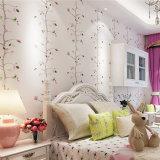PVC Wallcovering, papel de empapelar del PVC, tela de la pared del PVC, papel pintado moderno del PVC del estilo